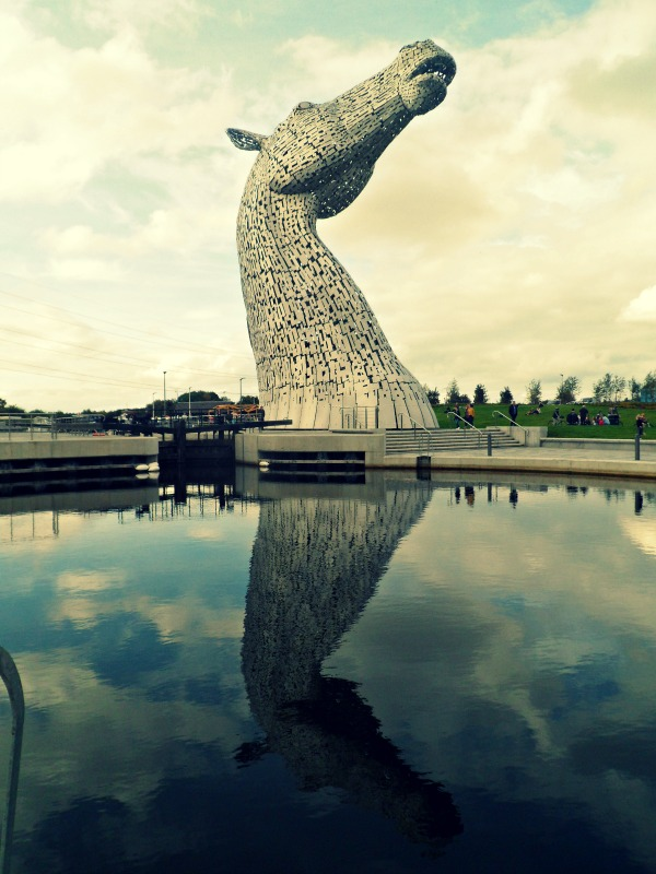 Kelpies at the Helix in Falkirk