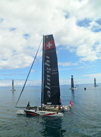 Extreme Sailing Series Funchal 2016